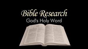 Bible Researcher