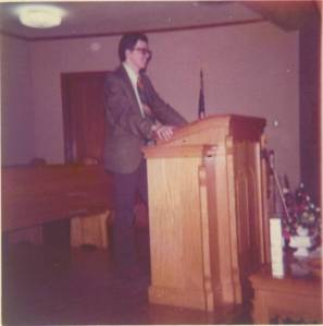 Pastor of Madison Baptist Church 1971-1974