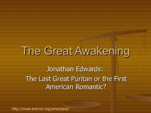 Edwards Great Awal