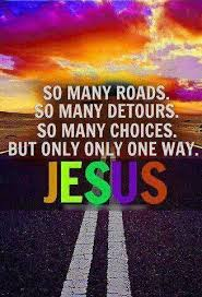 Jesus the only way