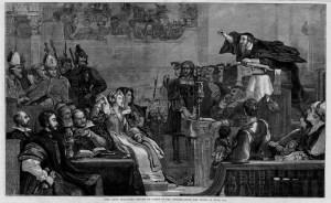 John Calvin preaching pulip