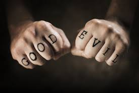 nature good and evil fist