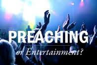 preaching and entertaiment logo