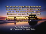 Political Roosevelt
