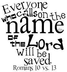 Romans 10 13 word