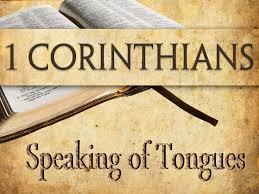 Tongues I Corinthians 14