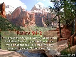 Worship Psalms 19