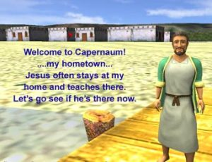 Luke 5 17 Welcome to Capernaum!