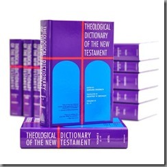 Theological Dictionary of the N.T. by Geoffrey book