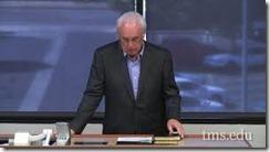 John MacArthur teaching Masters