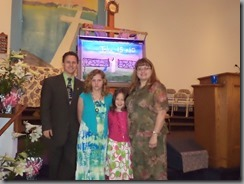 Dwight Hayes family 2014 Easter