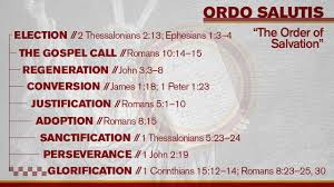 Ordo salutis verses